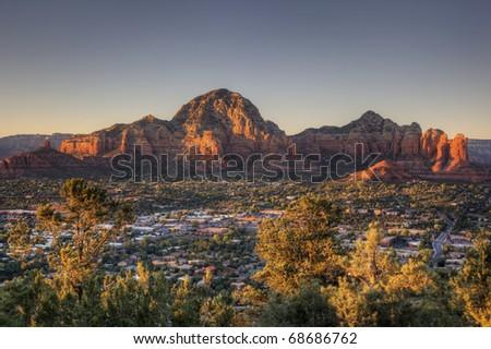 Sedona Sunset - stock photo