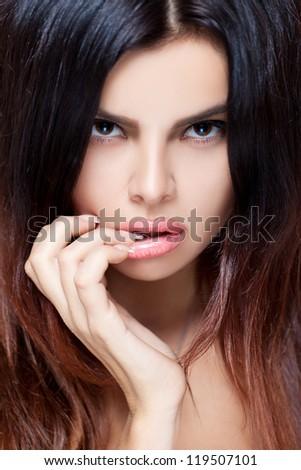 Seductive beauty - stock photo