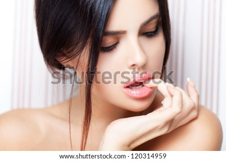 Seductive beauty - stock photo