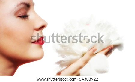 Seductive Woman - stock photo