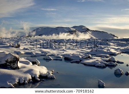 See in winter time - stock photo