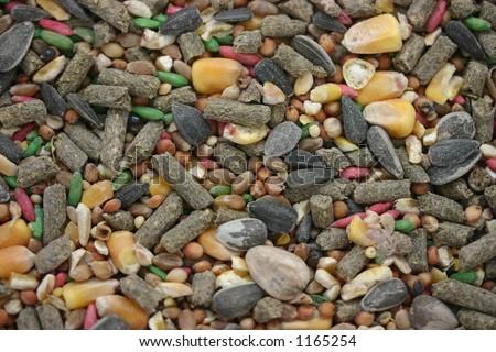 seed mix - stock photo
