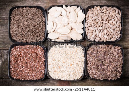 seeds - stock photo