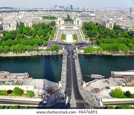 Seine river in Paris - stock photo