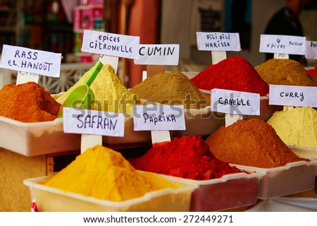 moroccan spices stock images, royalty-free images & vectors