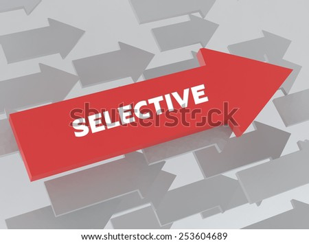 SELECTIVE - stock photo