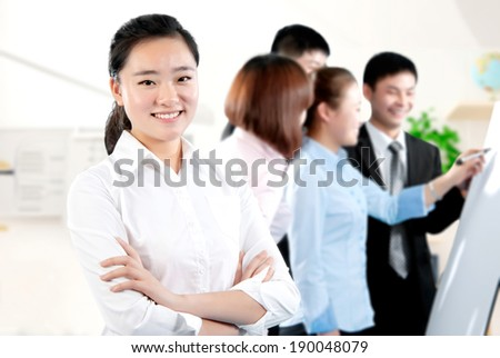 Self-confidence mature career women - stock photo