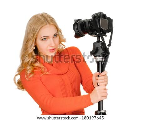 self-portrait - stock photo