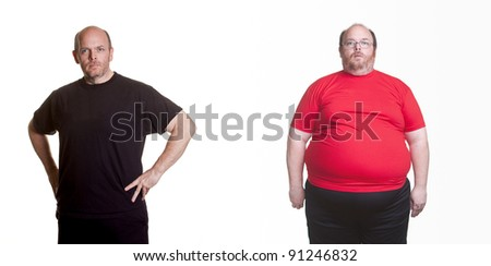 Self Portrait - 18 months of healthy eating and exercise - 180 pounds lost