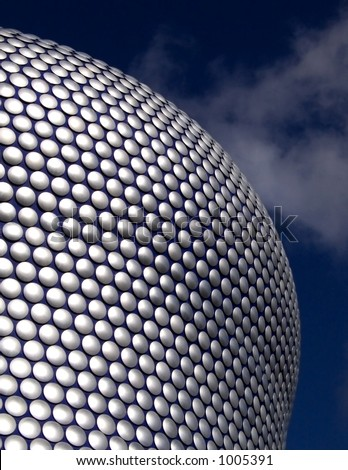 Selfridges building in Birmingham England - stock photo