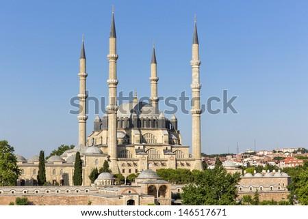 Selimiye Mosque - stock photo