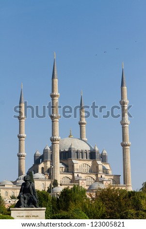 Selimiye Mosque, Edirne, Turkey - stock photo
