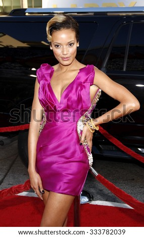 Selita Ebanks at the Los Angeles premiere of 'Larry Crowne' held at the Grauman's Chinese Theater in Hollywood, USA on June 27, 2011. - stock photo