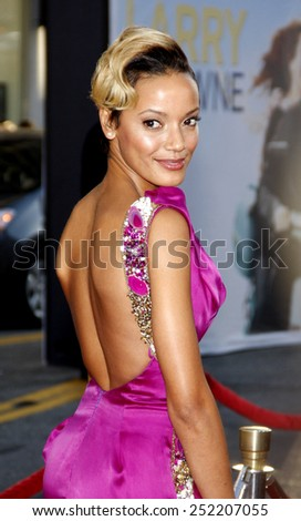 "Selita Ebanks at the World Premiere of ""Larry Crowne"" held at the Grauman's Chinese Theater in Los Angeles, California, United States on June 27, 2011.  - stock photo"