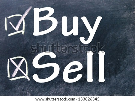 sell and buy choice