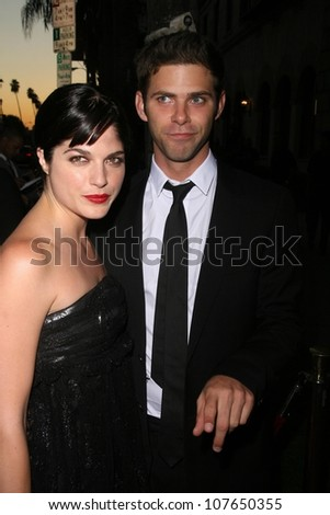 Selma Blair and Mikey Day  At NBC's Fall Premiere Party. Boulevard 3, Hollywood, CA. 09-18-08