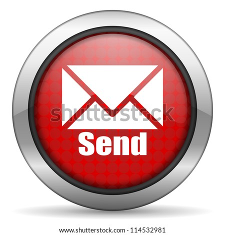 send icon - stock photo