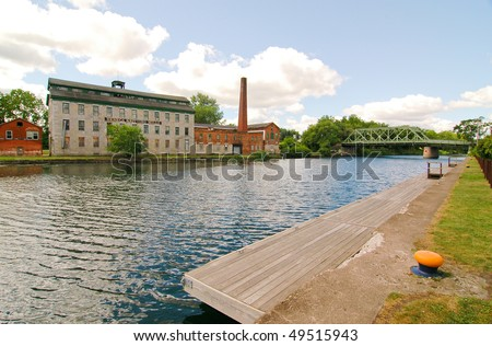 Seneca Knitting Mills - stock photo