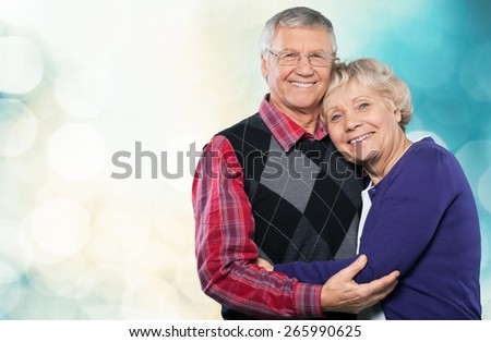 Senior Adult, Couple, Latin American and Hispanic Ethnicity. - stock photo