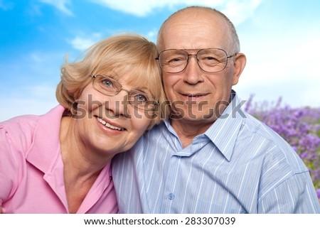 Senior Adult, Couple, Old. - stock photo