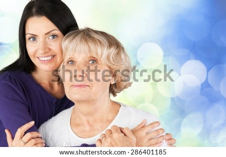 Senior Adult, Family, People. - stock photo