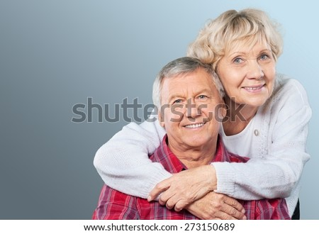 Senior Adult, Hope, Care. - stock photo