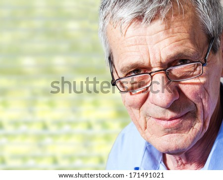 Senior business man - stock photo