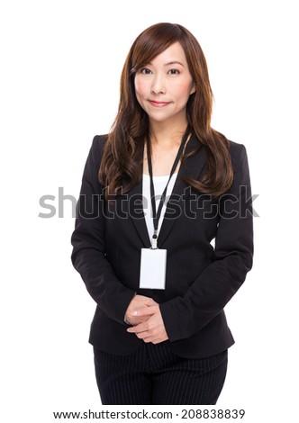 Senior businesswoman portrait - stock photo