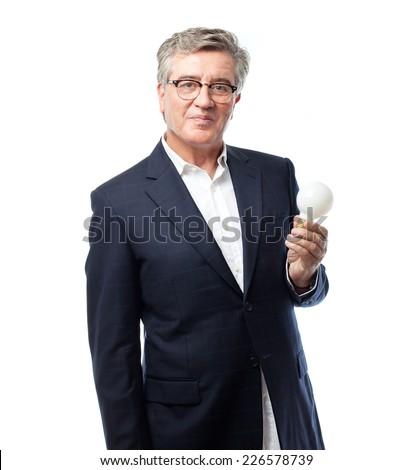 senior cool man idea concept - stock photo