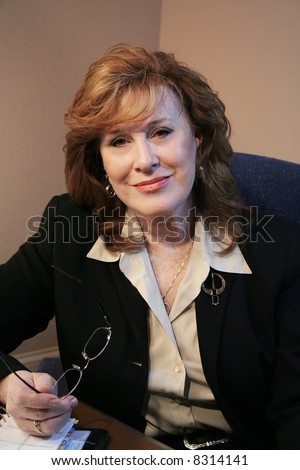 Senior Executive Woman Portrait - stock photo