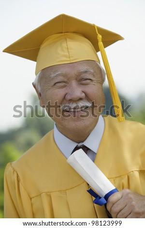 Senior Graduate - stock photo