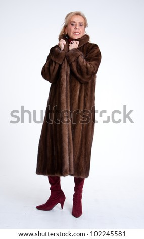 Women In Mink Coats Stock Images, Royalty-Free Images & Vectors ...