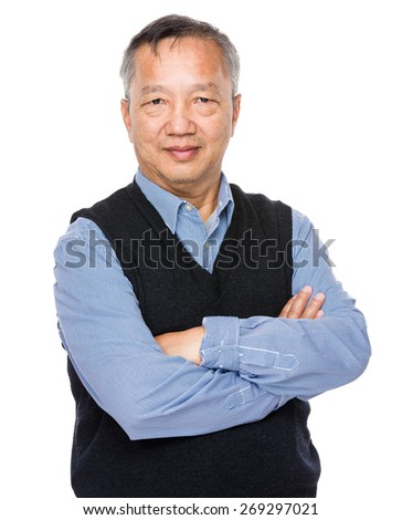 Senior man - stock photo