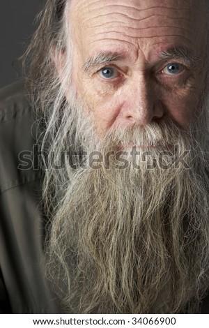 Astonishing Old Man Long Beard Stock Images Royalty Free Images Vectors Short Hairstyles For Black Women Fulllsitofus