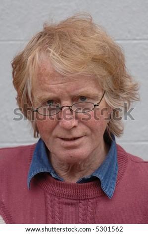 Senior Portrait - stock photo