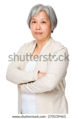 Senior woman - stock photo