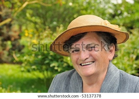 Senior woman - portrait