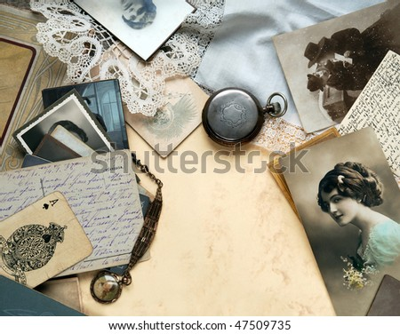 Sentimental memories - stock photo
