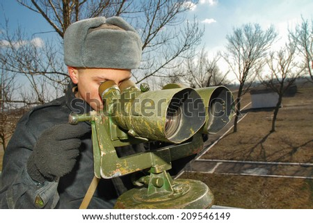 sentinel soldiers - stock photo