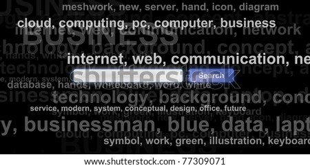 SEO - Search Engine Optimisation - stock photo