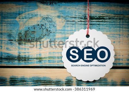SEO Search Engine Optimization - stock photo