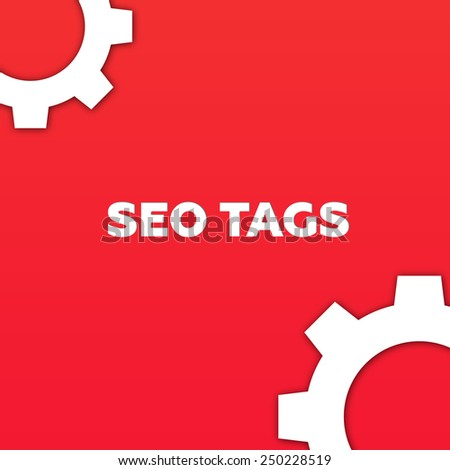 SEO TAGS - stock photo