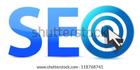 sep target illustration design over a white background - stock photo
