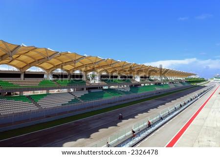 Sepang F1 circuit - stock photo