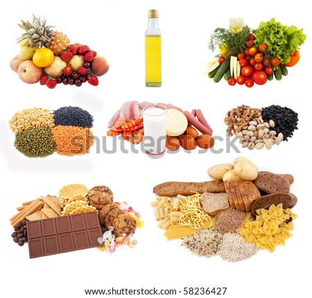 Separate kitchen for nutrition - stock photo