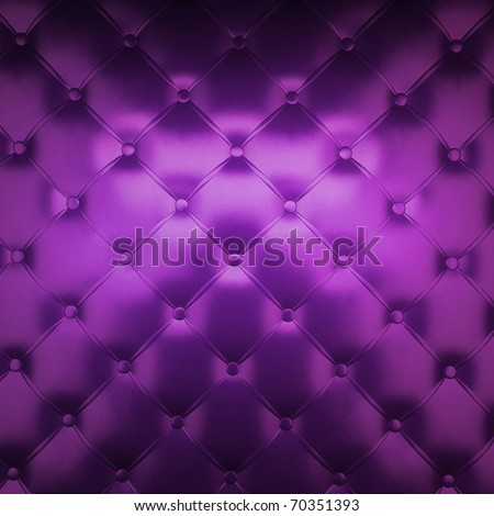 Sepia luxury buttoned purple leather - stock photo