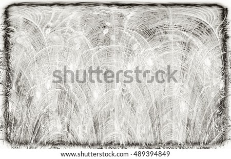 sepia tone grunge wall. Modern futuristic painted wall for backdrop or wallpaper with copy space. Close up image