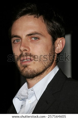 "September 13, 2006. Casey Affleck attends the Los Angeles Premiere of ""The Last Kiss"" held at the Directors Guild of America in Hollywood, California United States."