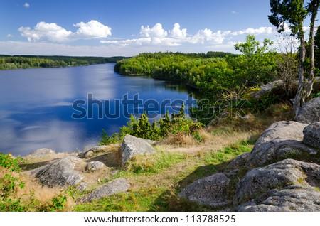 September in Sweden - stock photo