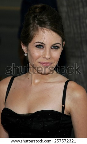 """September 6, 2006. Villa Holland at the Los Angeles Premiere of """"The Black Dahlia"""" held at the Academy of Motion Picture Arts and Sciences in Beverly Hills, California.  - stock photo"""